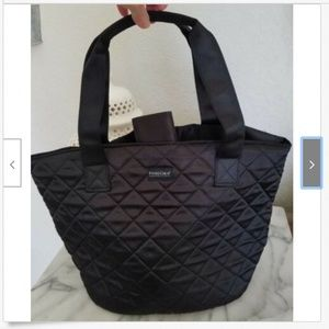 Pandora Quilted Black Tote Bag NEW - Nice GIFT